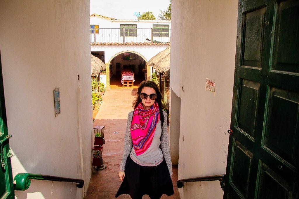 Unul dintre restaurantele drăguțe din Villa de Leyva