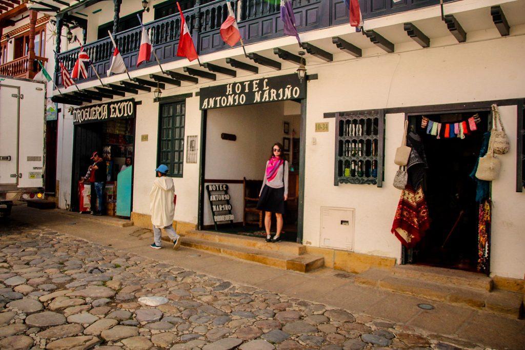 Hotelul din Villa de Leyva