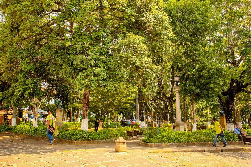 Parcul din Barichara