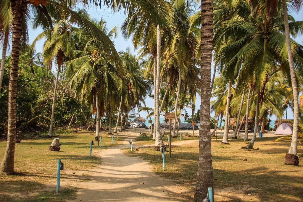 Camping la Tayrona Park