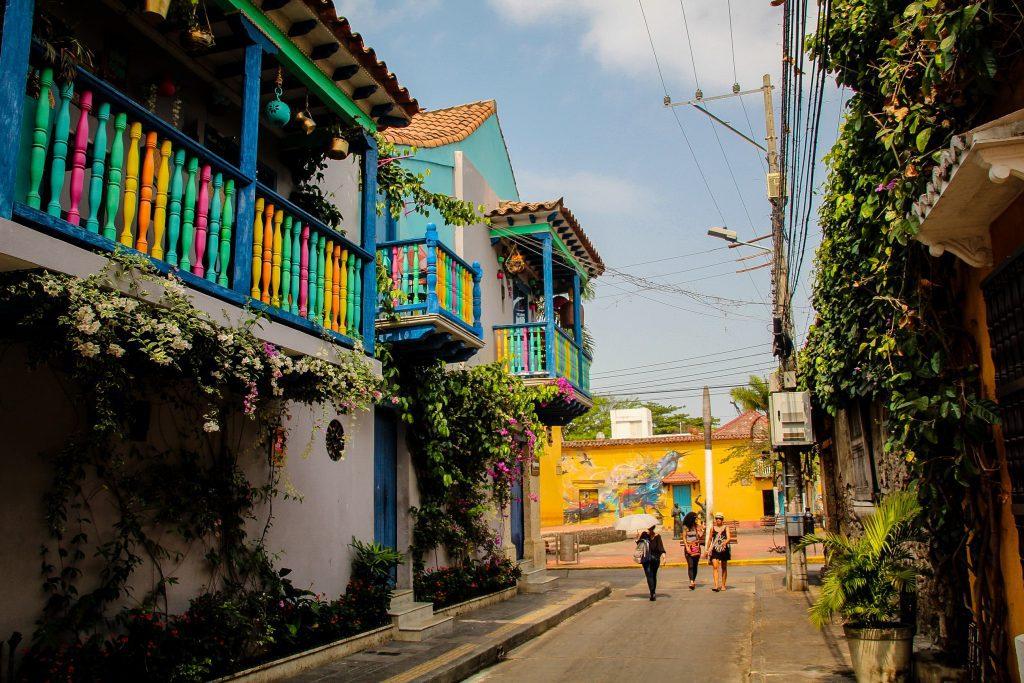 Străzile din Cartagena