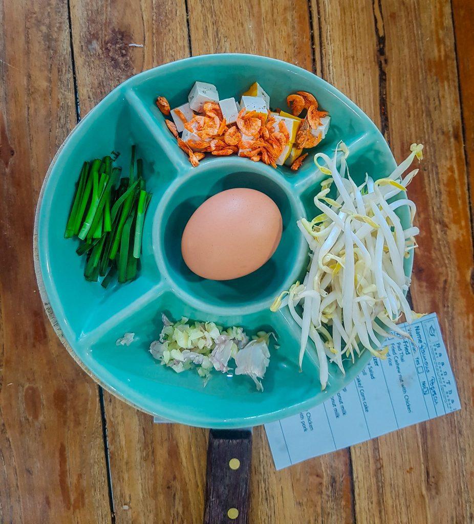 Ingrediente pentru phad thai