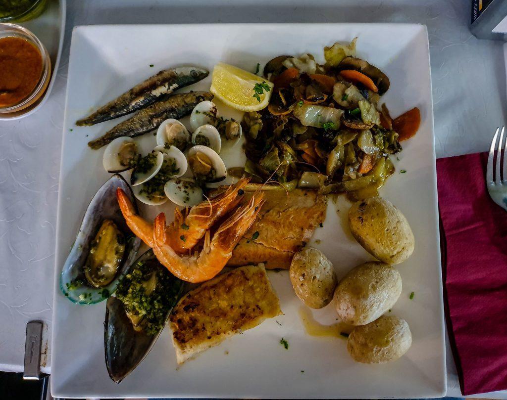 Pește și fructe de mare