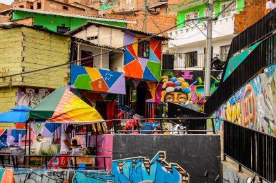 Arta este unul dintre mijloacele prin care Comuna 13 s-a reabilitat