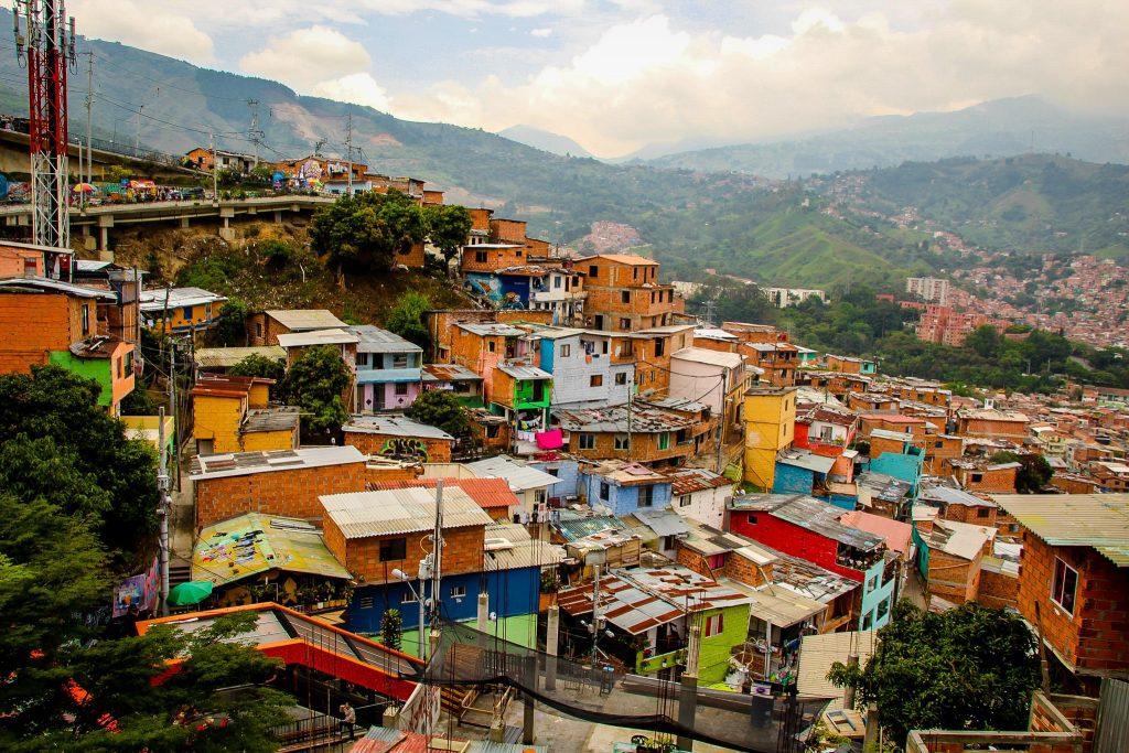 Case în Comuna 13, Medellin