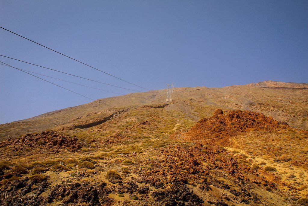 Pe aici trece telecabina către El Teide