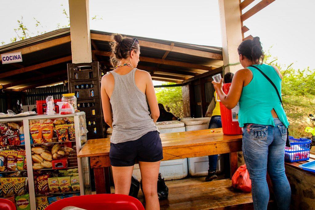 Versiune de restaurant în Tatacoa