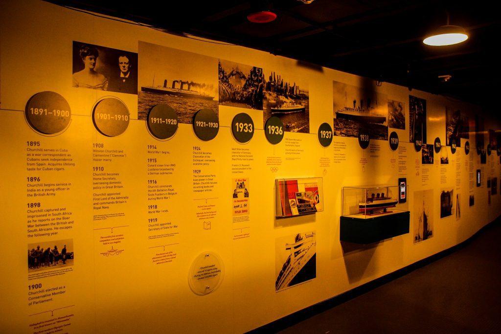 Queen Mary găzduiește și diverse expoziții