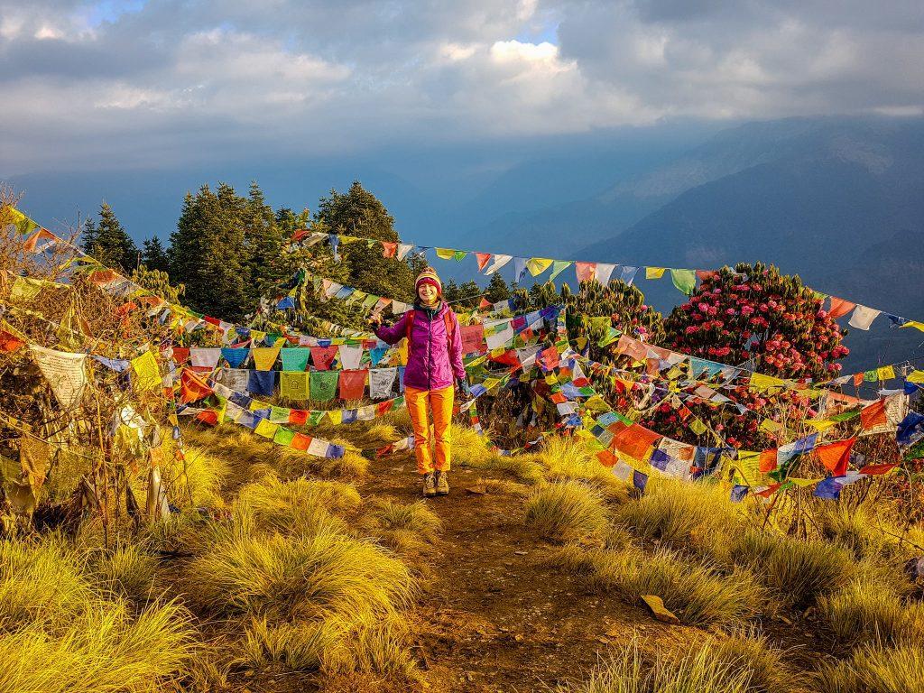 Salutări de la Poon Hill, Nepal!