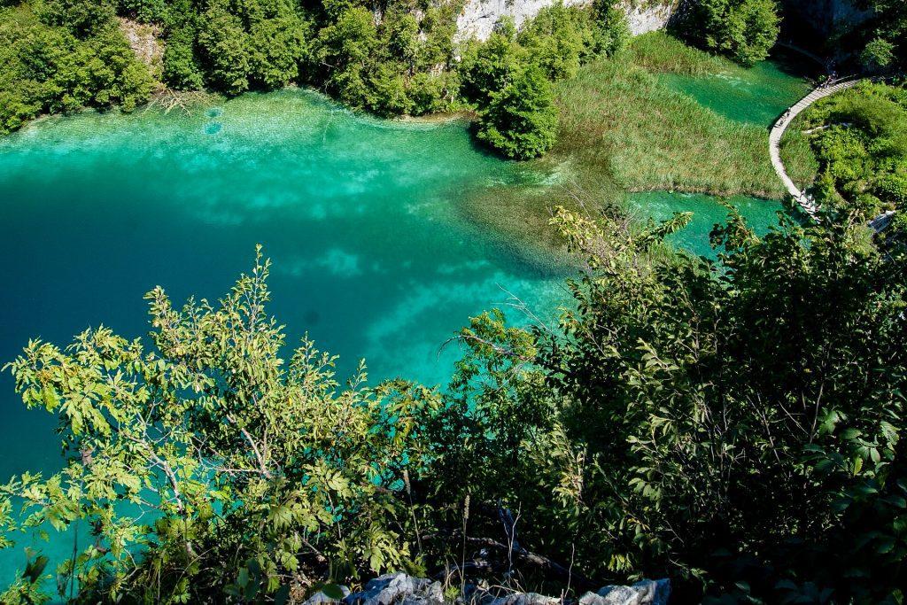 Culorile incredibile de la Plitvice