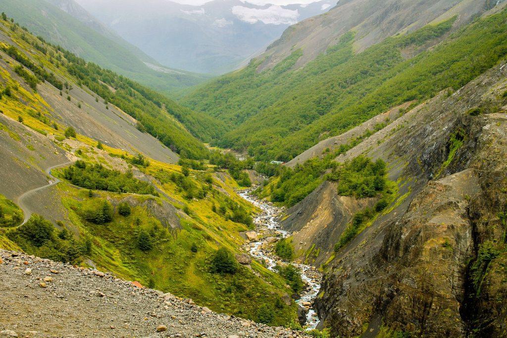 Spre Torres del Paine