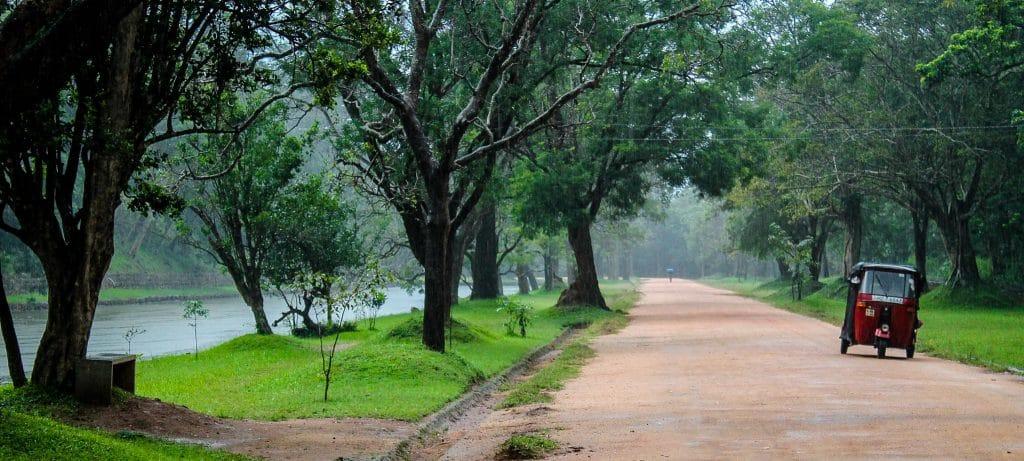 Tuk-tuk de Sri Lanka