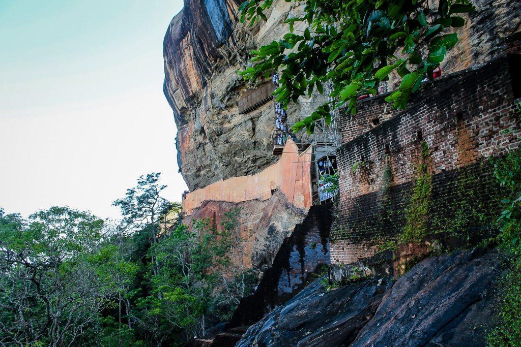 Urcarea la Sigiriya