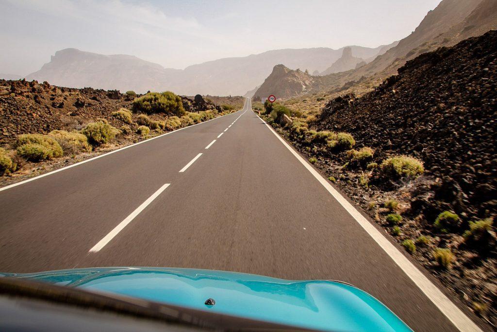 În Tenerife.