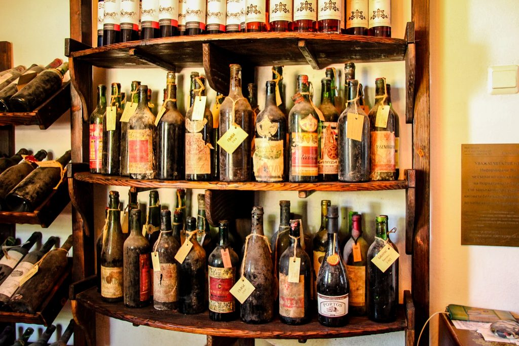 Colecția de vinuri vechi