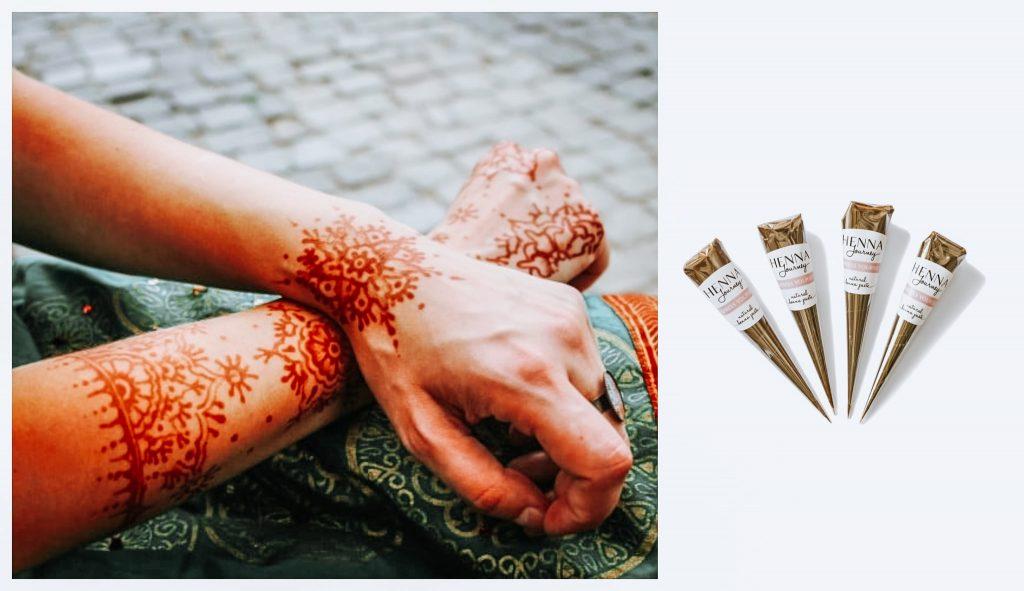 Conuri cu henna