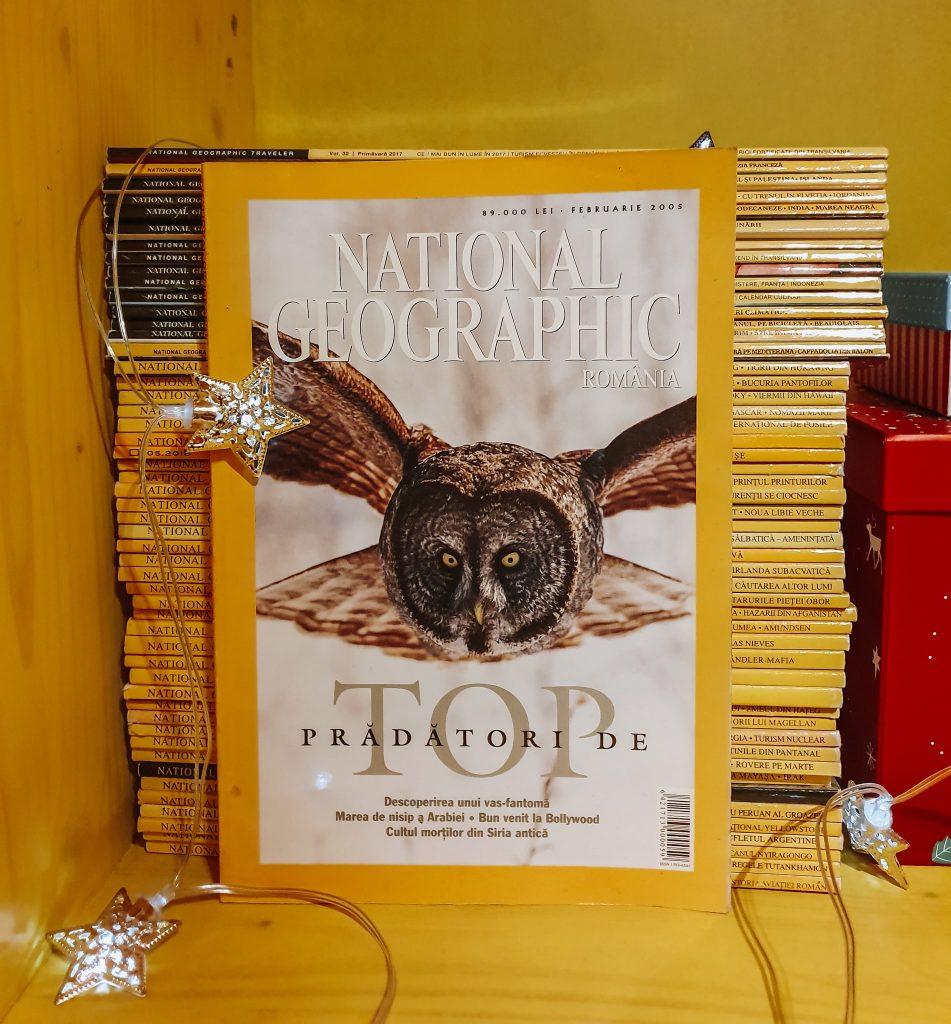 Colecția mea de National Geographic