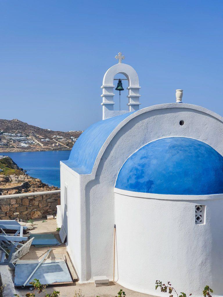 Sunt peste 800 de biserici în Mykonos