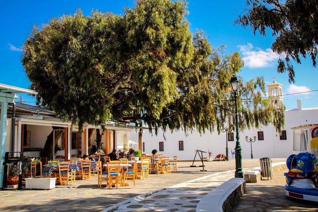 Vreme minunată în Mykonos la început de octombrie