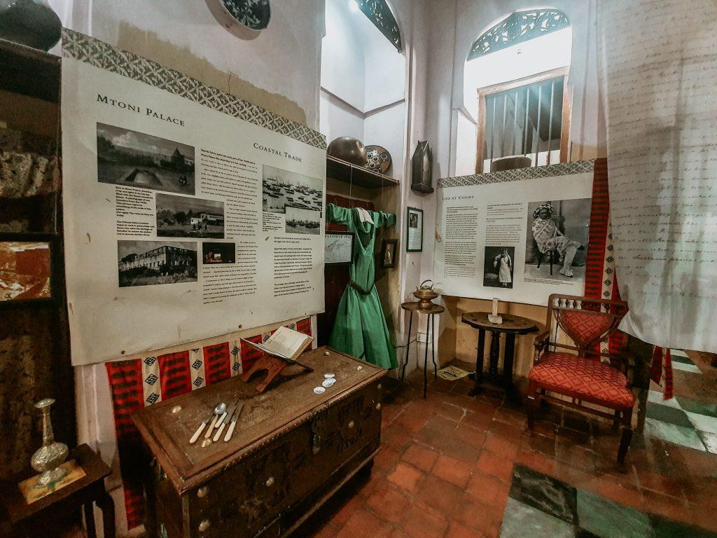 Interiorul muzeului Prințesei Salme