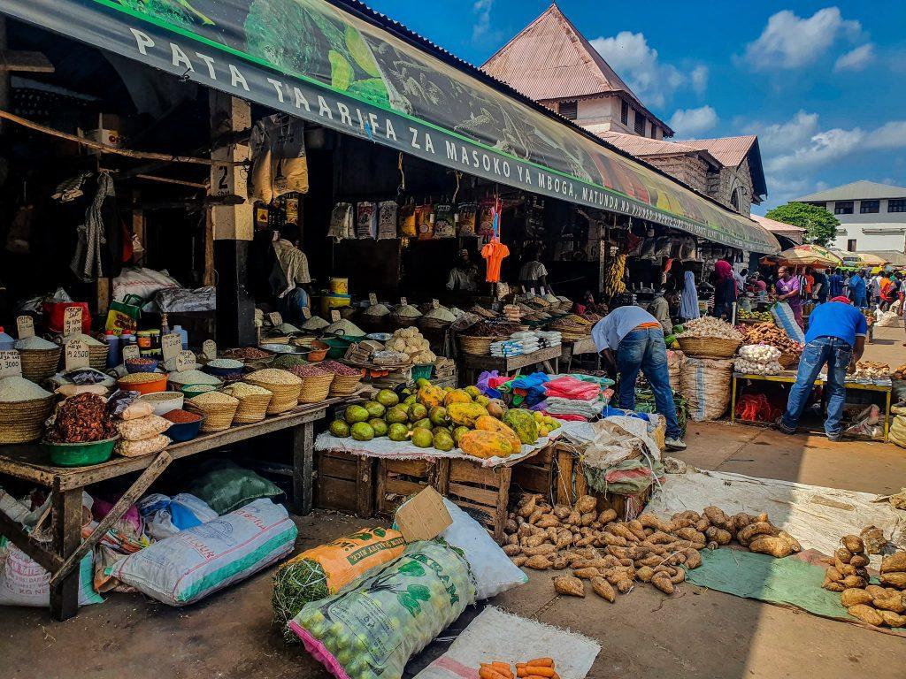 Piața din Stone Town