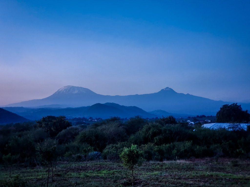 Kilimanjaro de departe