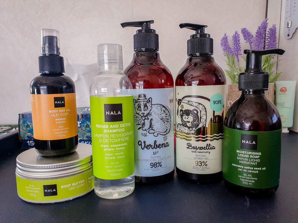 Produse naturale de la Nala & Naturalness