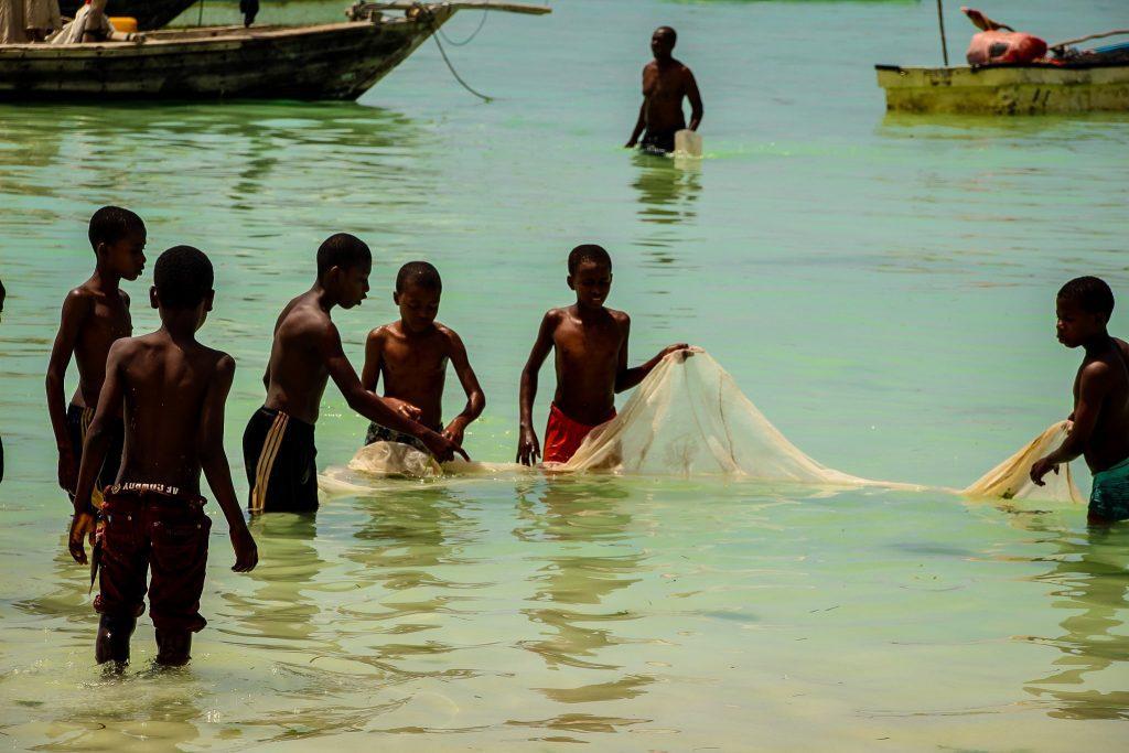 Copiii din Kizimkazi