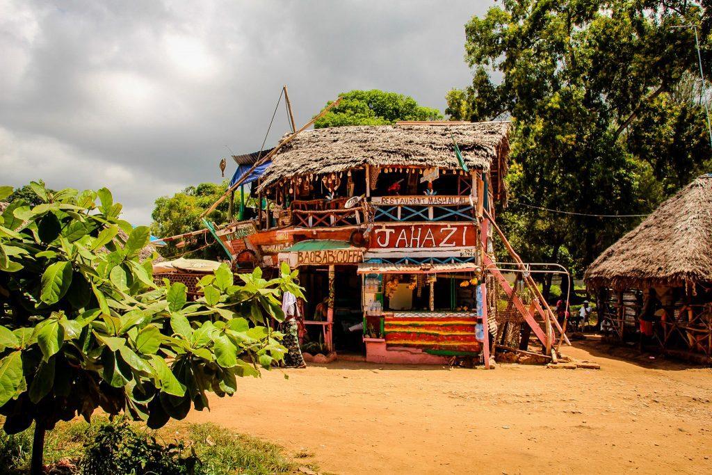 Un restaurant tare drăguț în Kizimkazi