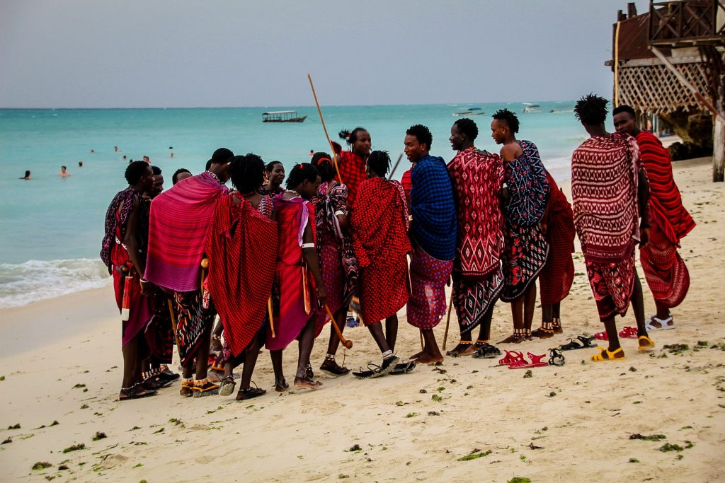 Masai în Zanzibar