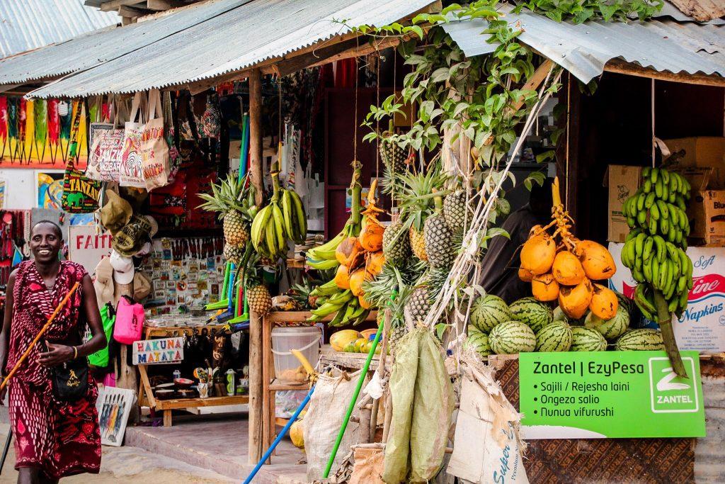 Piața în Nungwi