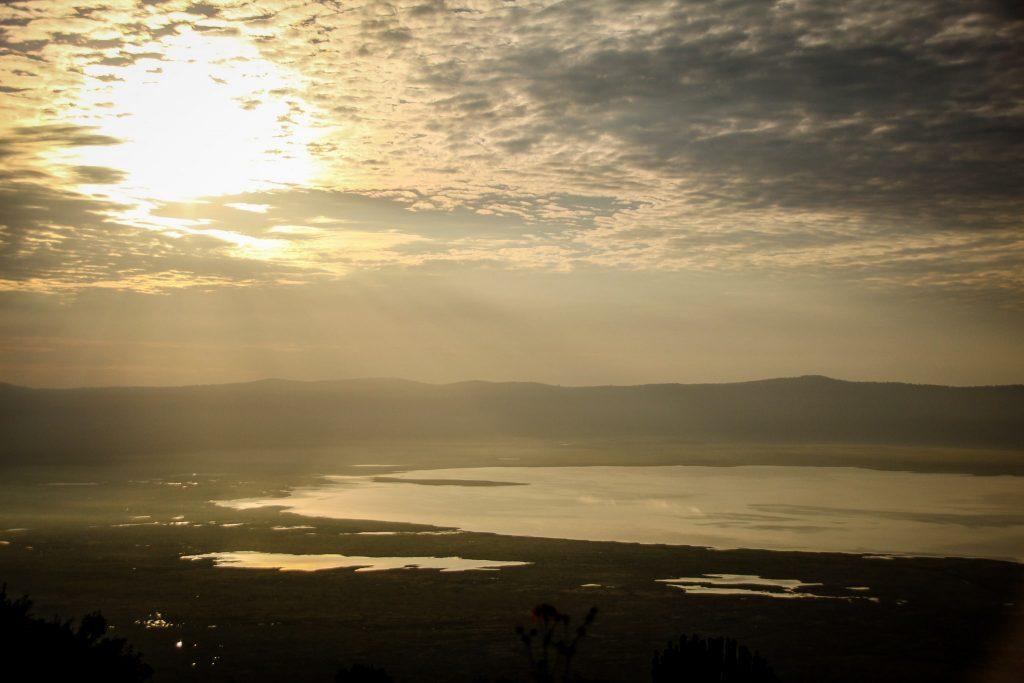 Răsărit în Ngorongoro