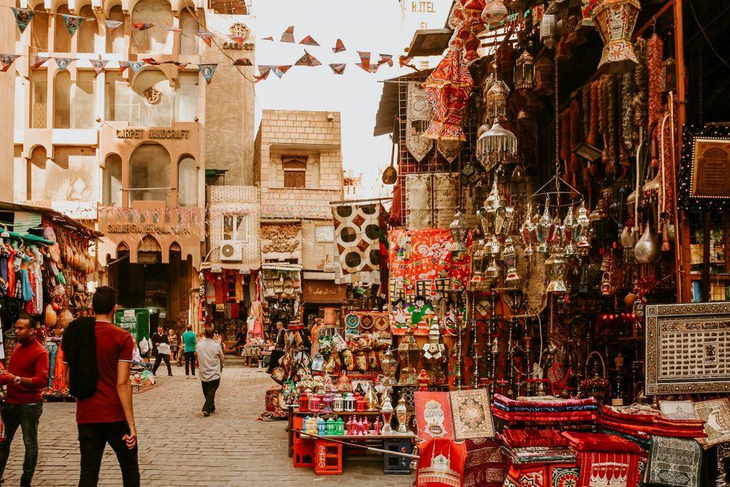 Bazar în Cairo