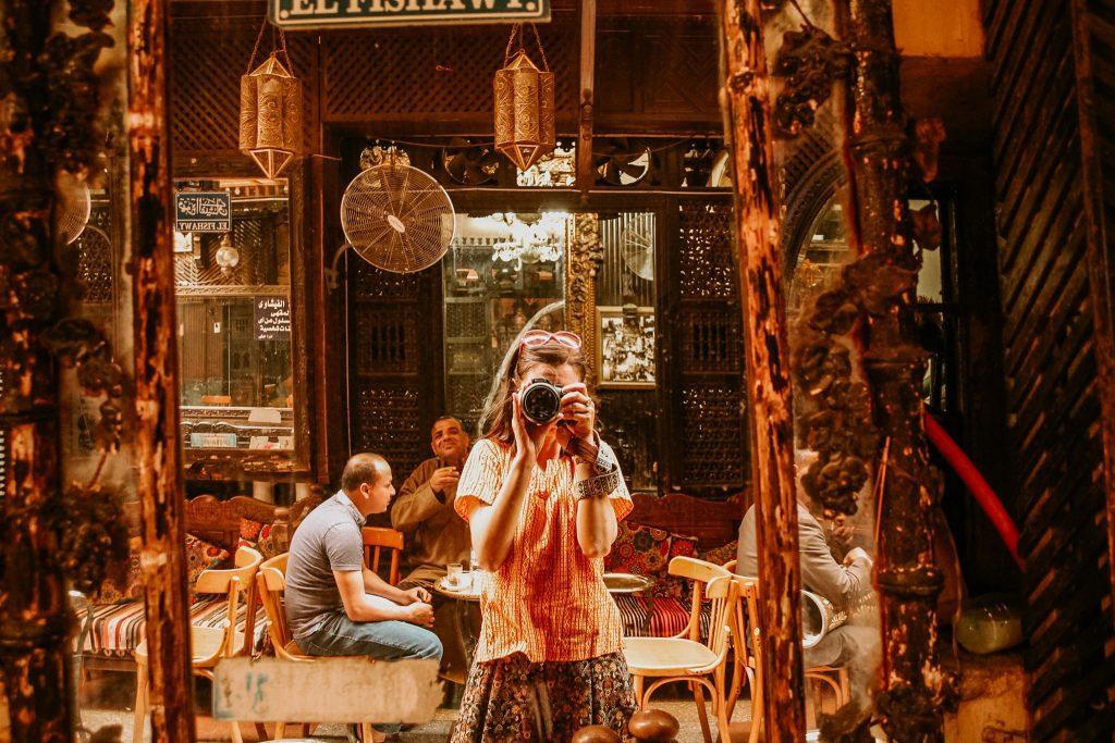 Eu în Cairo