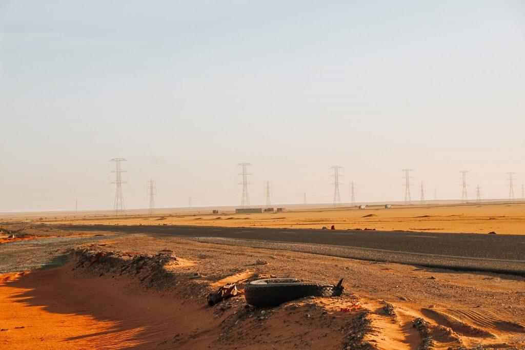 Șosele prin deșert