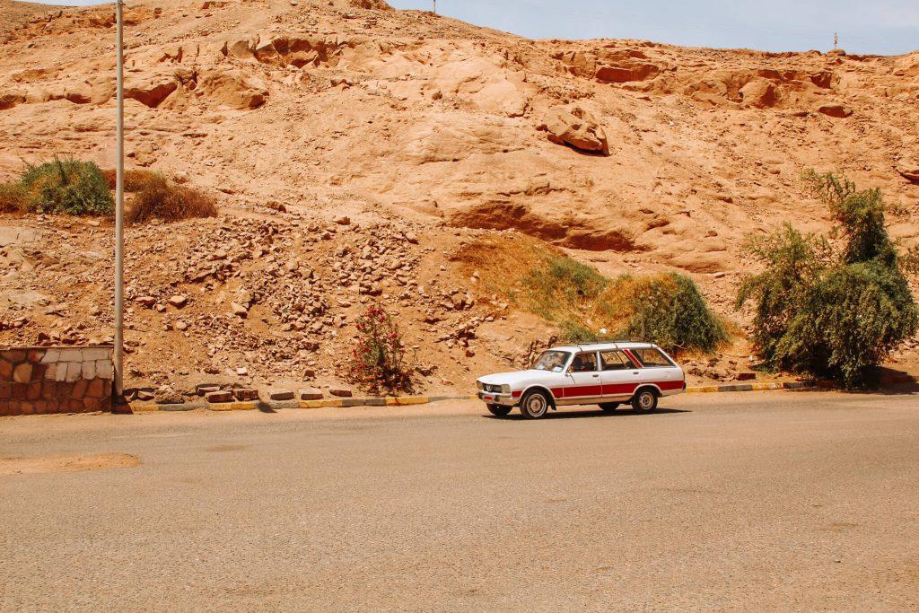 Taxiul nostru între Aswan și Templul Philae