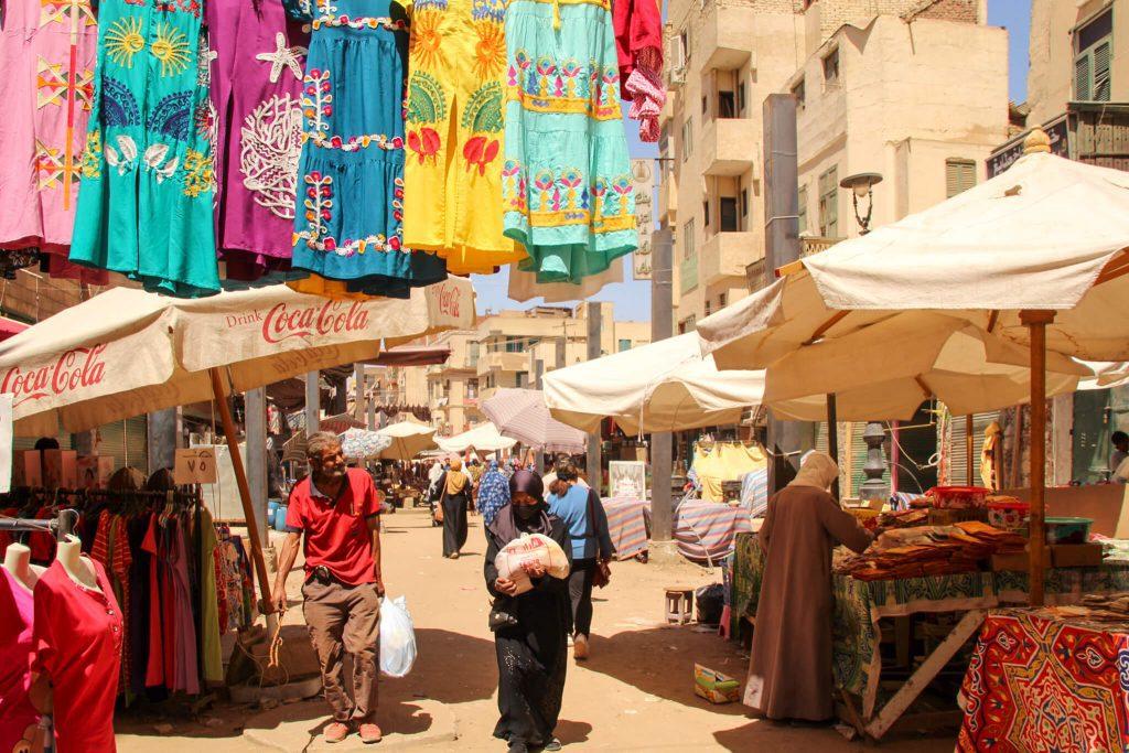 Bazarul din Aswan