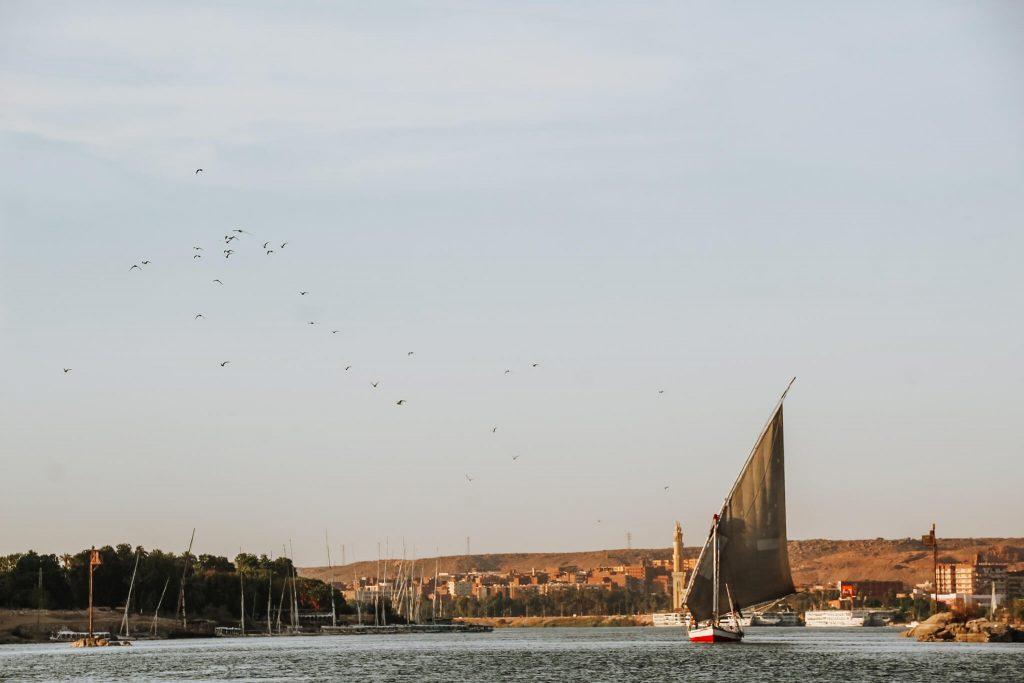 Felucca pe Nil