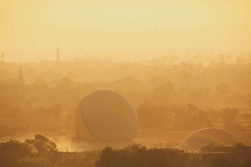 Baloane în Luxor
