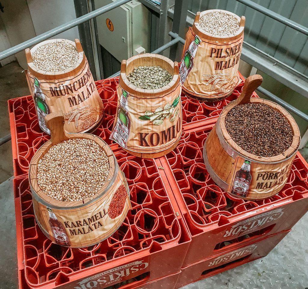 Ingrediente pentru Csíki Sör