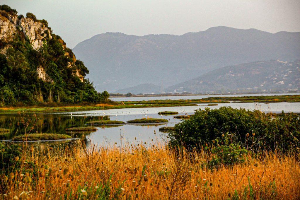 Delta de la intrarea în Lefkada