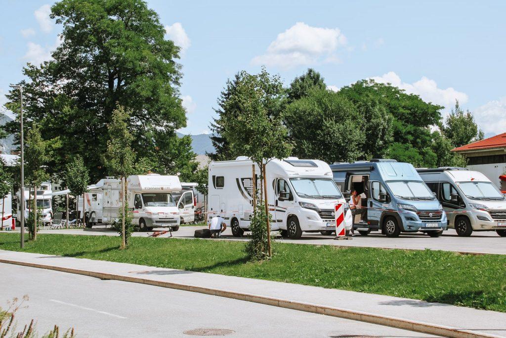 Camper stop în Bled